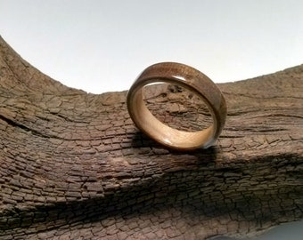 Walnut Maple Bentwood Ring