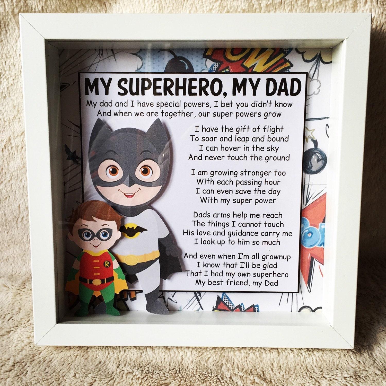 Fathers Day Gift - Superhero Dad - Daddy - Best Daddy - Superhero ...