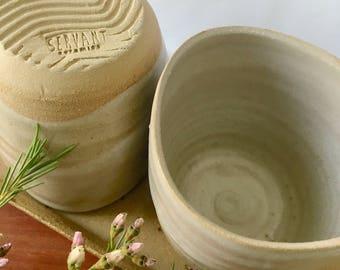 Stoneware Cup | ceramic beaker | handmade beaker | cup | pottery | coffee tea hot chocolate chai | bowl