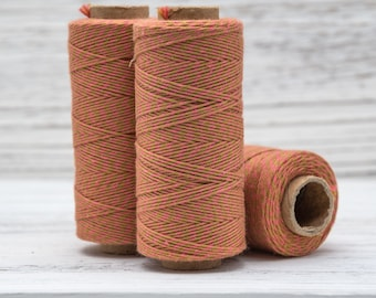 Bakers Twine, 410 Feet, 2ply  Twine,  Colored Cotton Twine, Piñata, Kitchen Twine  - BT2