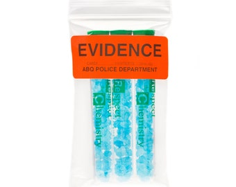 Blue Sky Candy-Filled Test Tubes, 3 Pack, inspired by Breaking Bad