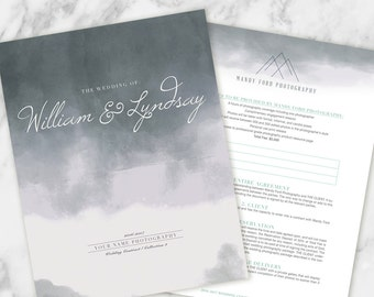 Wedding Photography Contract - Storm - Custom Branded Template