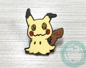 Pokemon Mimikyu Enamel Pin