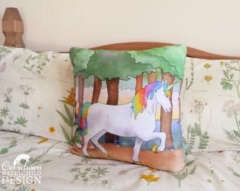 Unicorn Cushion Cover, Throw Cushion, Pillow, Decorative CushionCushion Cover, Throw Cushion, Pillow, Decorative Cushion, Unicorn Gift