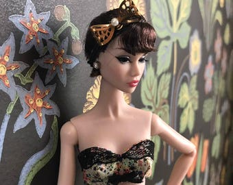 OOAK lingerie set (II) for Misaki, Poppy Parker, Fashion Royalty dolls 2017 SS collection