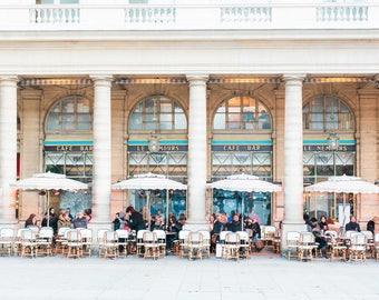 Paris Cafe | Winter in Paris | Fine Art Photography | Parisian Art | Parisian Cafe | Photography in Paris | Paris Art Print | Cafe Culture