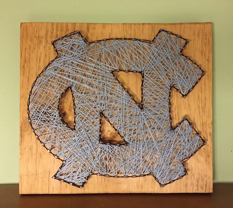 UNC string art..tarheels string art..North Carolina Tarheels