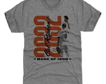 Cal Ripken Jr. Shirt | Baltimore Baseball | Men's Premium T Shirt | Cal Ripken Jr. 2632 O