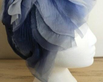 sale 20% off all vintage hats  ... FLAPPER Fabulous Silk Flowing Great GATSBY Vintage HAT Fashion Finest  ...