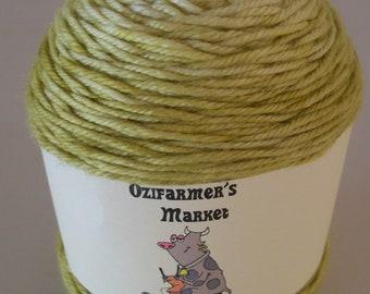 Moolah DK- 8ply gradient dyed  merino/cashmere/nylon  blend yarn - Wheat