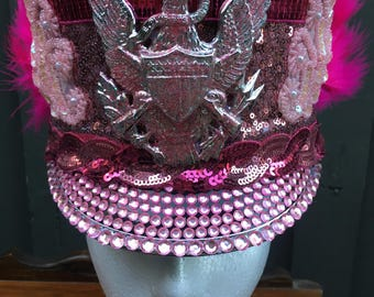 Pink Marching Hat