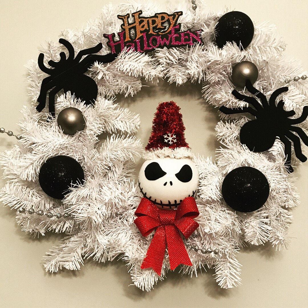 Alptraum vor Weihnachtskranz