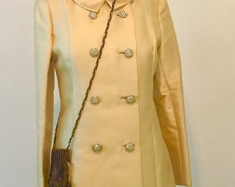1960s ILGWU Yellow Coat