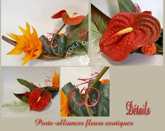 Holder exotic, red orange