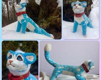 """OOAK Art doll """"Blue"""""""