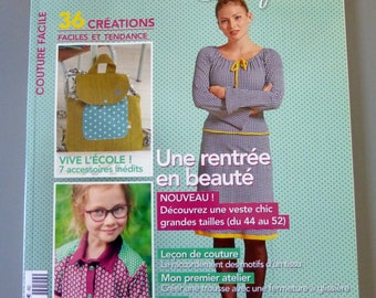 Book, Magazine sewing creative, sewing is easy, September 2016
