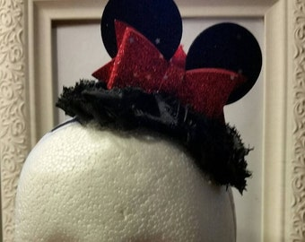 CLEARANCE - Mini Minnie Mouse Ears Headband - Infant, Toddler, Adult