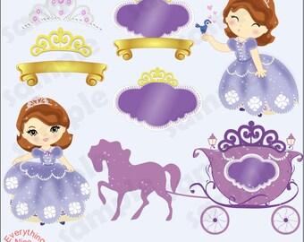 Princess Sophie Clip Art Set