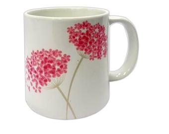 "Any occasion gift coffee mug ""Hydrangea"""