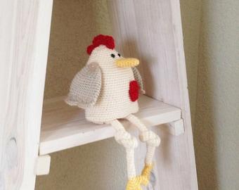Crochet Pattern Chicken Happy Peppy