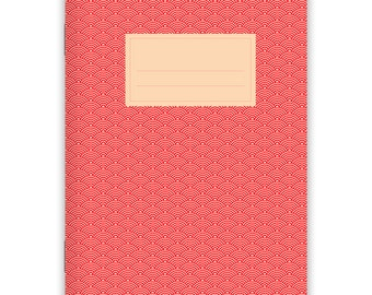 Notebook Stapled A5 Japanese Pattern No. 2