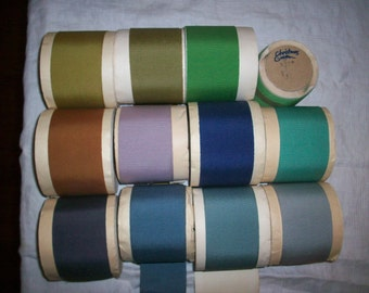 Vintage Petersham cotton/rayon ribbon  2 1/8""