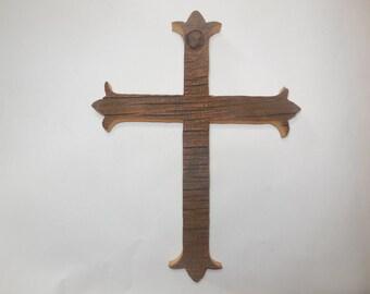 Barnwood minimalist  cross