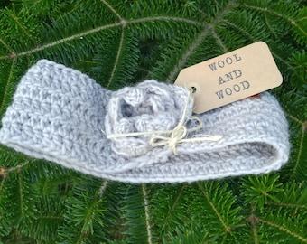 Crocheted Headband/ Ear Warmer