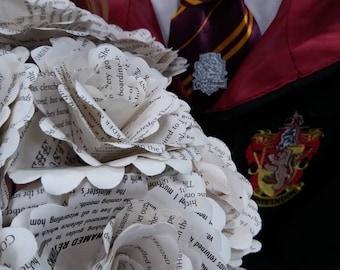 6 x Harry potter paper rose bouquet