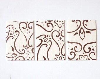 Batik Greeting Card - Traditional no.45
