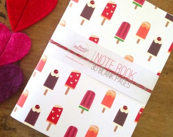 Popsicle Note Book