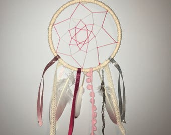 Ombre Pink Dream Catcher
