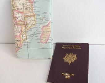 Case passport blue