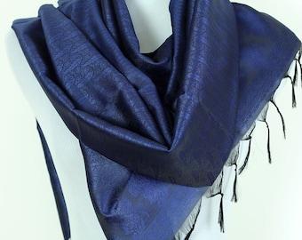 Solid Color Scarf (Royal Blue)