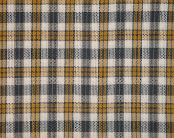 Homespun Fabric | Cotton Home Decor Fabric | Rag Quilt Fabric | Plaid Fabric | Apparel Fabric | Doll Making Fabric | Crafting Fabric