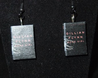 Gone Girl Book Earrings - Great Gift for Book Lovers!