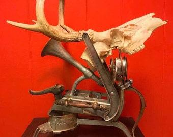 Deer Sculpture (OOAK)