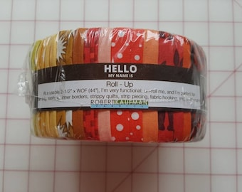 Pacific Warm Colorstory Jelly Roll by Elizabeth Hartman for Robert Kaufman Fabrics