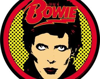 David Bowie Vintage Raglan Baseball T-shirt