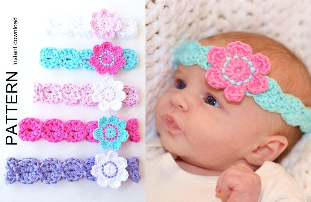 HEADBAND PATTERN By KerryJayneDesigns BABY Headband Pattern