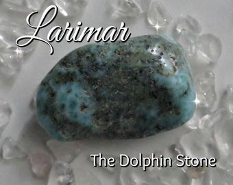 Larimar Stone - Connect with the Divine Feminine within while helping you speak your truth passionately