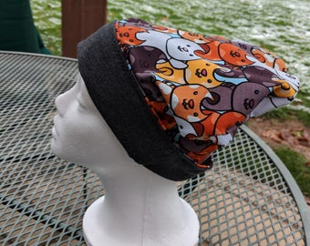 Cat Beanie | Slouchy Beanie | Stand Inside the Rain
