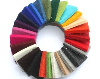 5mm Merino Wool Felt Sample Ring