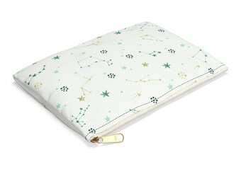 Vintage Constellations Accessory Pouch