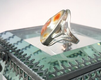 Firey Deco Blister Pearl Ring