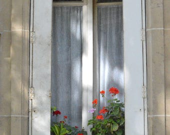 Paris Photography The White Window French Architecture Travel Fine Art France