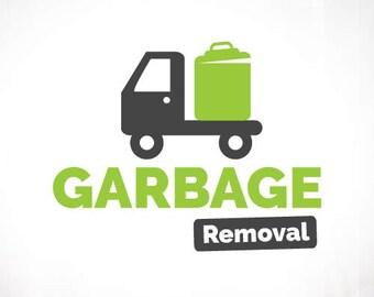 Premade Logo Design • Garbage Removal