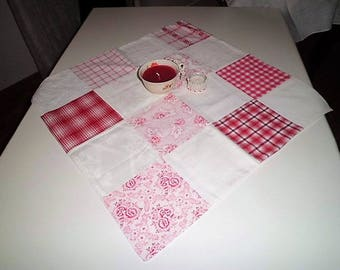 Tablecloth, medium ceiling, vintage ~ Patchwork