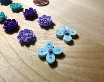Quilled flower set