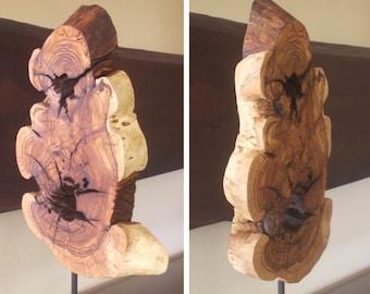 Wood Sculpture Wood Art tabletop sculpture tabletop art wood art desktop sculpture desktop art table decor wood minimalist sculpture